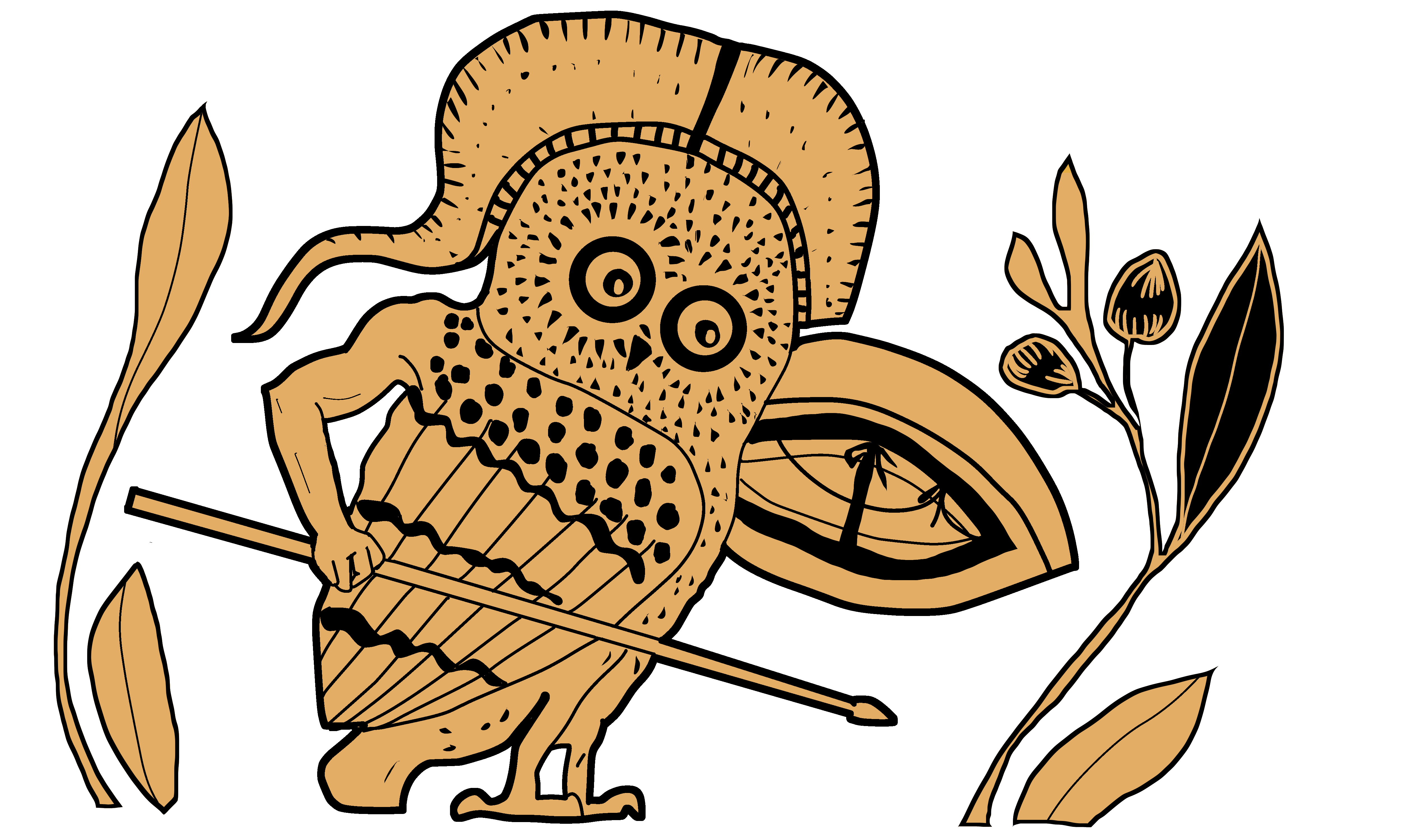 Owl Hoplite color - Amy Pistone